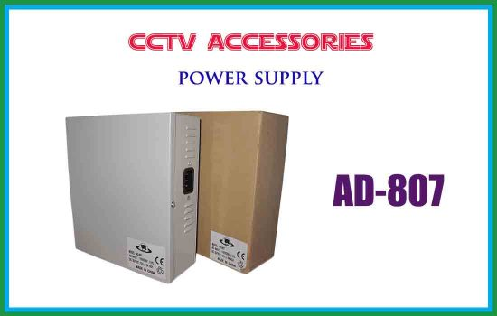 AD-807 - Power supply-cctv accessories advanced digital technology Srilanka