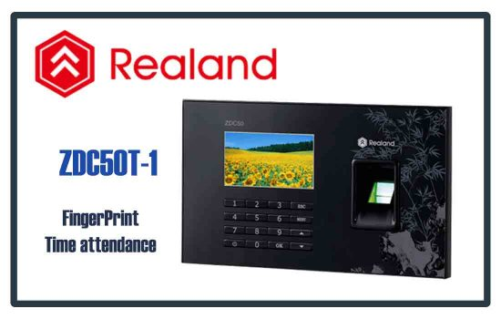 ZDC50T-1 - Realand Time Attendance