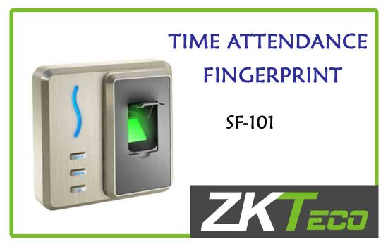 SF-101 - ZkTeco Time attendance -fingerprint advanced digital technology Colombo
