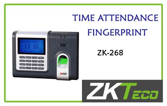 ZK-268 - ZkTeco Time attendance -fingerprint advanced digital technology Colombo