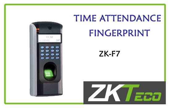ZK-F7 - ZkTeco Time attendance -fingerprint advanced digital technology Colombo