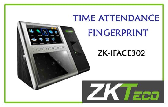 ZK-IFACE302 - ZkTeco Time attendance -fingerprint advanced digital technology Colombo