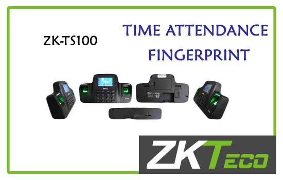 ZK-TS100 - ZkTeco Time attendance -fingerprint advanced digital technology Colombo