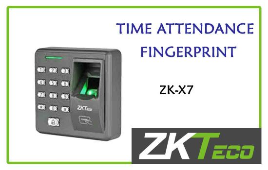 ZK-X7 - ZkTeco Time attendance -fingerprint advanced digital technology Colombo