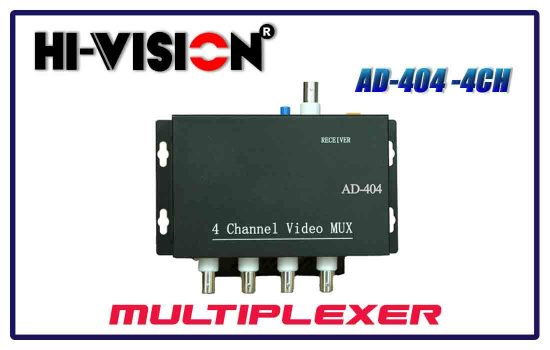 AD-404 -4CH - Hivision multiplexer in Advanced digital technology Colombo Srilanka.