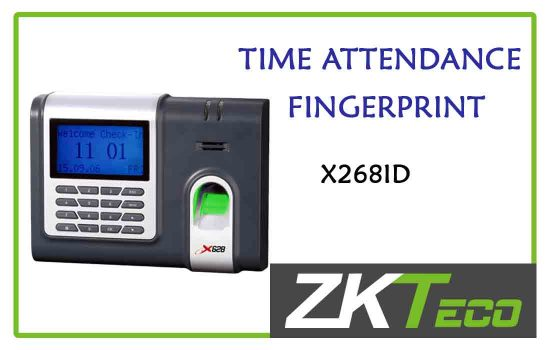 X268ID - ZkTeco Time attendance -fingerprint advanced digital technology Colombo