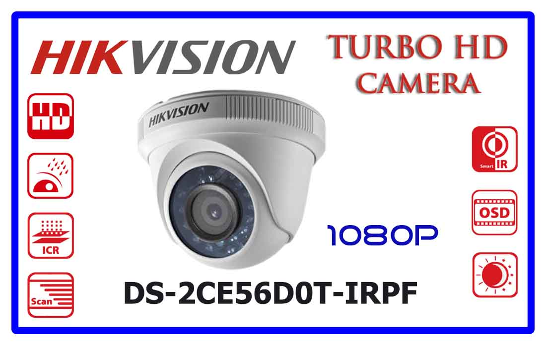 DS-2CE56D0T-IRPFHikvision Turbo HD Camera