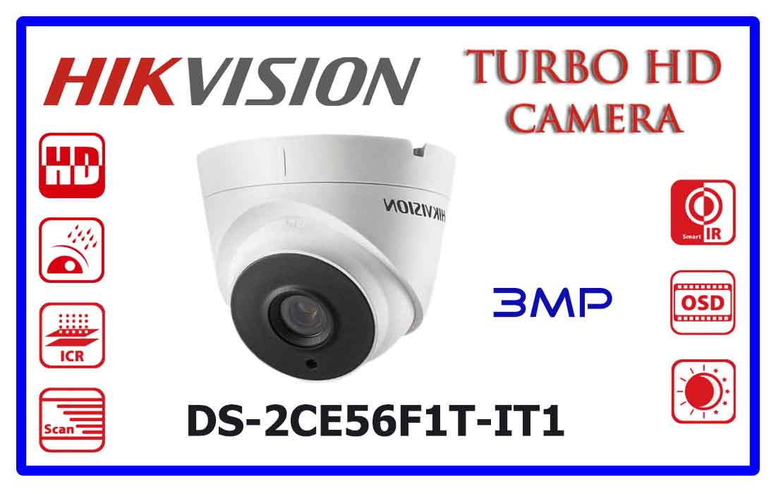 DS-2CE56F1T-IT1 - Hikvision Turbo HD Camera