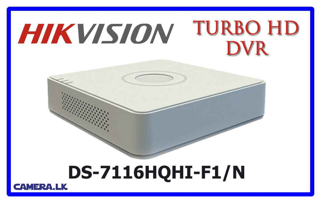 DS-7116HQHI-F1/N - Hikvision Turbo HD DVR
