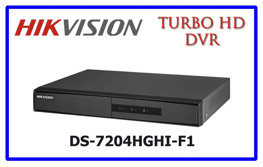 DS-7204HGHI-F1- Hikvision Turbo HD DVR
