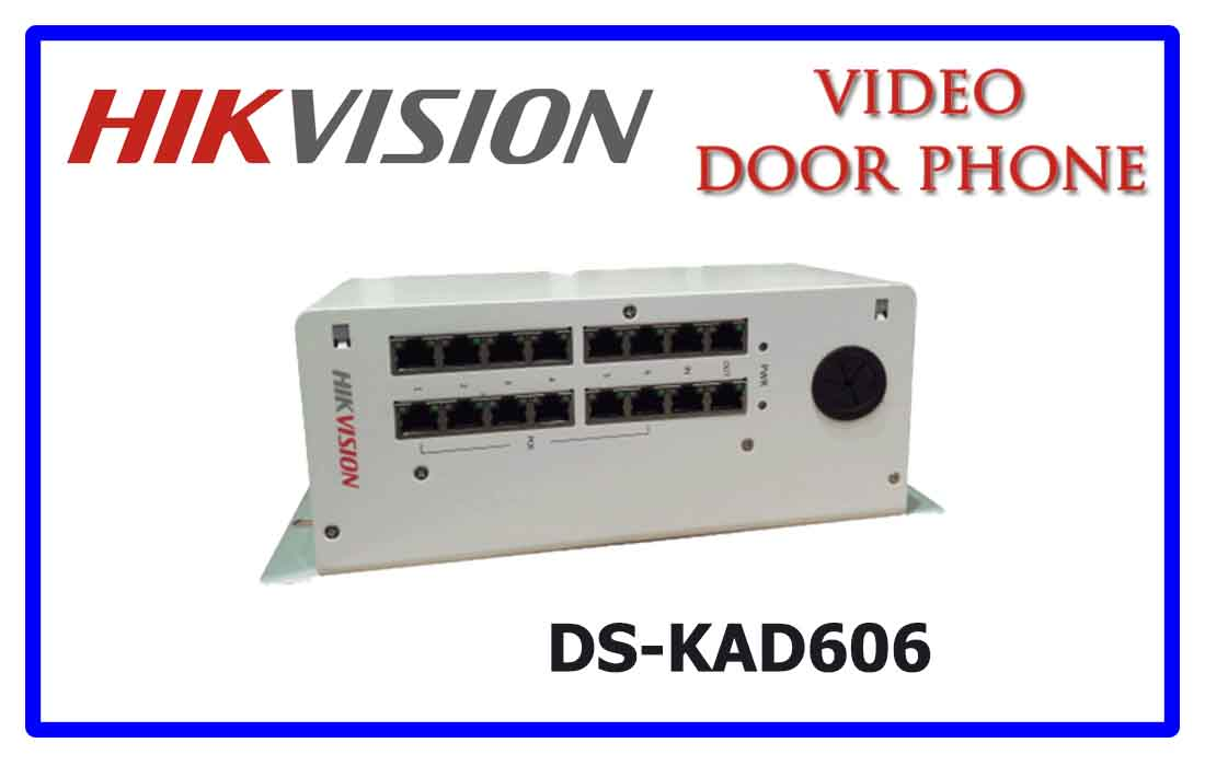 DS-KAD606 - Hikvision Video door phone accessories