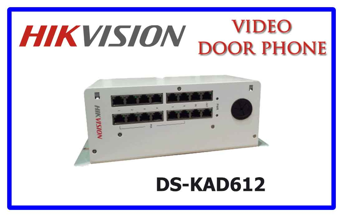 DS-KAD612 - Hikvision Video door phone accessories