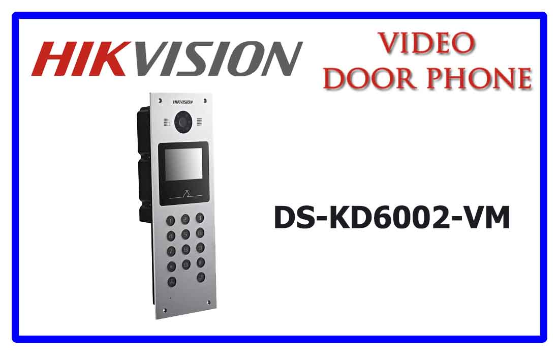 DS-KD6002-VM - Hikvision Video door phone