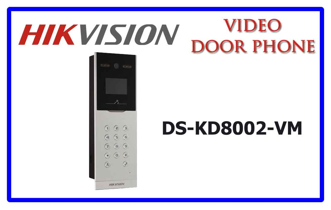 DS-KD8002-VM- Hikvision Video door phone