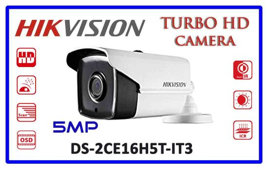 DS-2CE16H5T-IT3 - Hikvision 5mp Turbo HD Camera Advanced Digital technology Colombo